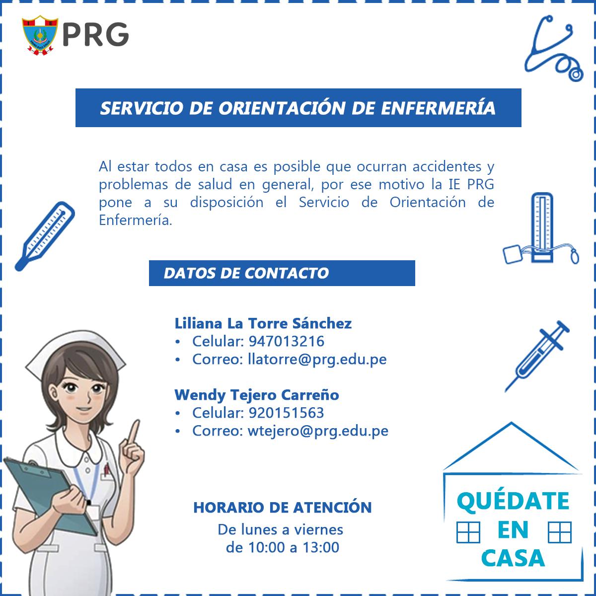 Afiche de servicio de orientación de enfermería2